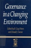 Governance in a Changing Environment, 1