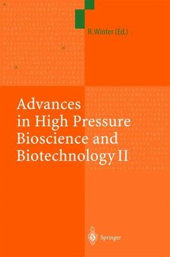 Advances in High Pressure Bioscience and Biotechnology II - Winter, Roland (ed.)