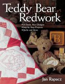 Teddy Bear Redwork - Print on Demand Edition