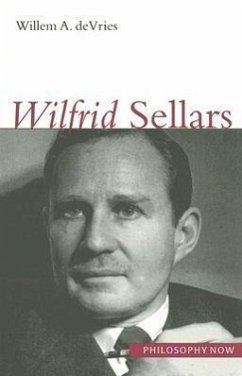 Wilfrid Sellars - DeVries, Willem A.