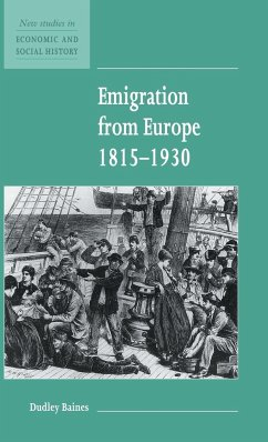 Emigration from Europe 1815-1930 - Baines, Dudley