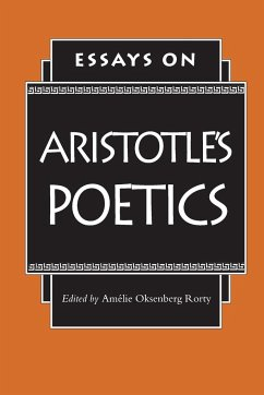 Essays on Aristotle's Poetics - Rorty, Amelie Oksenberg (ed.)