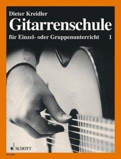 Gitarrenschule für Einzel- oder Gruppenunterricht