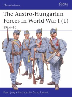 The Austro-Hungarian Forces in World War I (1): 1914-16 - Jung, Peter