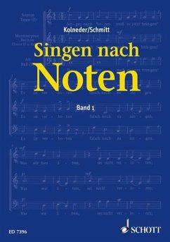 Singen nach Noten