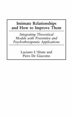 Intimate Relationships and How to Improve Them - DeGiacomo, Piero