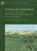 Testing the Hinterland: The Work of the Boeotia Survey (1989-1991) in the Southern Approaches to the City of Thespiai [With CDROM]