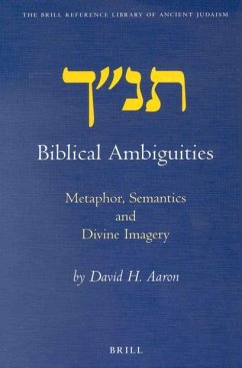 Biblical Ambiguities: Metaphor, Semantics, and Divine Imagery - Aaron, David H.