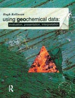 Using Geochemical Data - Rollinson, Hugh R.