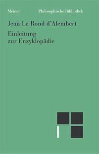 Einleitung zur Enzyklopädie (1751)