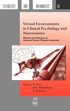 Virtual Environments in Clinical Psychology and Neuroscience - Herausgeber: Molinari, E. Wiederhold, B. K. Riva, G.