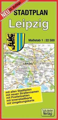 Doktor Barthel Stadtplan Leipzig