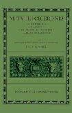 """M. Tulli Ciceronis """"De Re Publica"""", """"De Legibus"""", """"Cato Maior De Senectute"""", """"Laelius De Amicitia"""""""