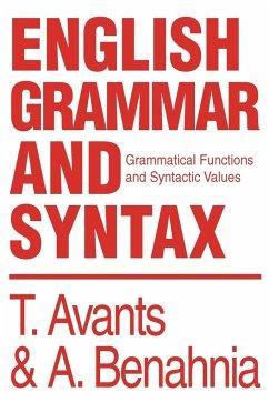 English Grammar and Syntax