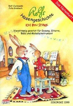 Rolfs Hasengeschichte, Das Notenheft - Zuckowski, Rolf; Ginsbach, Julia