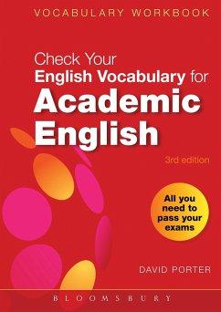Check Your Vocabulary for Academic English - Porter, David