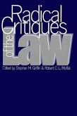 Radical Critiques of the Law (PB)