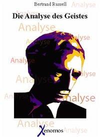 Die Analyse des Geistes - Russell, Bertrand