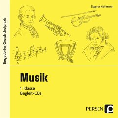 Musik, 1. Klasse, 2 Audio-CDs - Kuhlmann, Dagmar