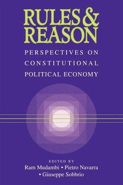 Rules and Reason - Herausgeber: Mudambi, Ram Sobbrio, Giuseppe Navarra, Pietro