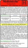 Blutgruppen-Diät - Blutgruppe AB, Medizinische Taschen-Karte