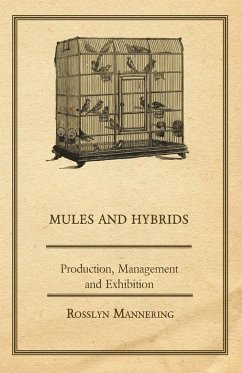 Mules and Hybrids - Production, Management and Exhibition - Mannering, Rosslyn