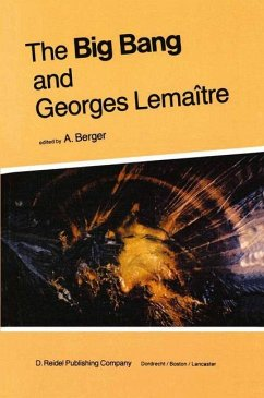 The Big Bang and Georges Lemaitre