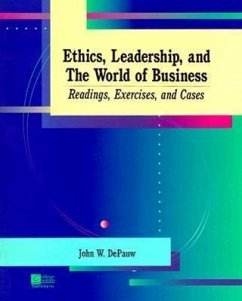 Ethics Leadership and Business - Depaw Depauw, Carl