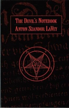 Devil's Notebook - Lavey, Anton