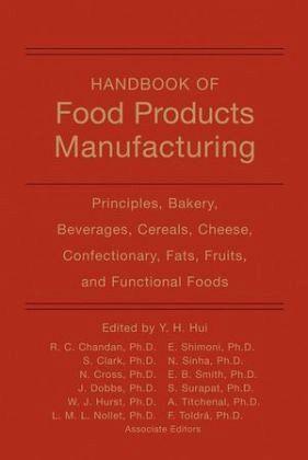 Handbook Of Food Products Manufacturing 1 Von Y H Hui