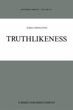 Truthlikeness - Niiniluoto, I.