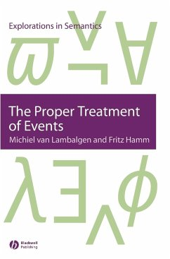 Proper Treatment of Events - Lambalgen, van; Hamm