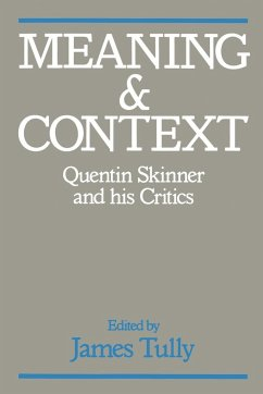 Meaning and Context - Tully, James (ed.)