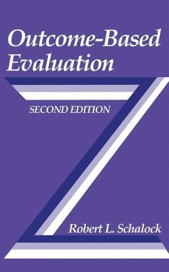 Outcome-Based Evaluation - Schalock, Robert L.