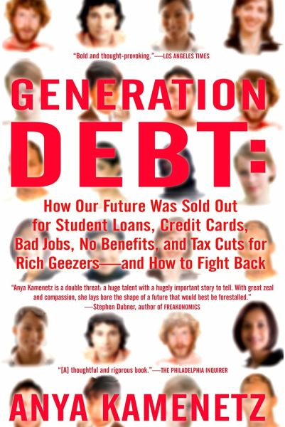 generation debt anya kamenetz essay Our students 20 mini-series continues wednesday, april 28th, with a live and interactive interview with anya kamenetz on her book, diy u: edupunks, edupreneurs and the coming transformation of higher education.