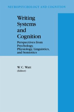 Writing Systems and Cognition - Watt, W.C. (Hrsg.)