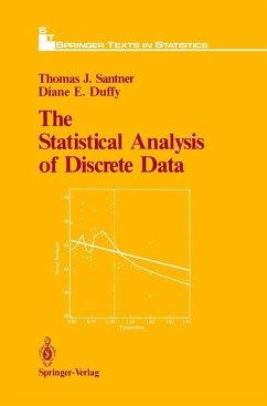 The Statistical Analysis of Discrete Data - Santner, Thomas J.; Duffy, Diane E.