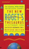 The New Roget's Thesaurus (Student Edition)