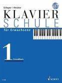 Klavierschule für Erwachsene, m. Audio-CD