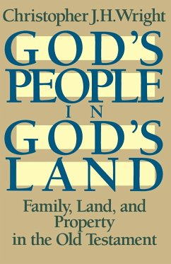 God's People in God's Land - Wright, Christopher J. H.