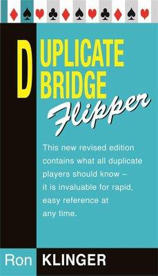 Duplicate Bridge Flipper - Klinger, Ron