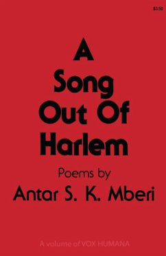 A Song Out of Harlem - Mberi, Antar S. K.