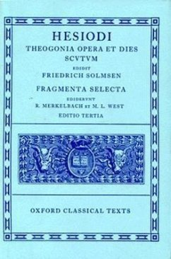 Theogonia, Opera et Dies, Scutum, Fragmenta Sel...