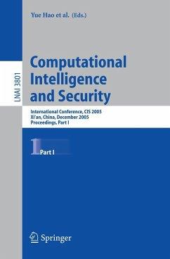 Computational Intelligence and Security - Hao, Yue / Liu, Jiming / Wang, Yuping / Cheung, Yiu-ming / Yin, Hujun / Jiao, Licheng / Ma, Jianfeng / Jiao, Yong-Chang (eds.)