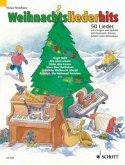 Weihnachtsliederhits, für Klavier, Akkordeon, Keyboard u. Gitarre