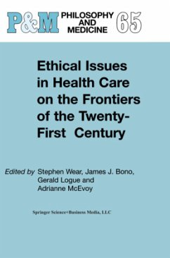 ethical health care issues paper 2 Chapter 11 ethics and health on the justice issue of distribution of care and on the value systems that infl uence our national agendas for health care.