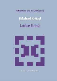 Lattice Points - Krätzel, Ekkehard