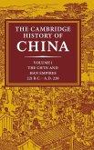 The Cambridge History of China, Volume 1
