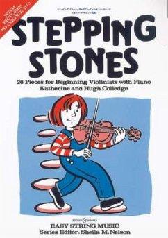 Stepping Stones, für Violine u. Klavier, Klavierpartitur u. Violinstimme