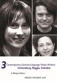 3 Contemporary German-Language Fiction Writers: Lichtenberg, Roggla, Schnider